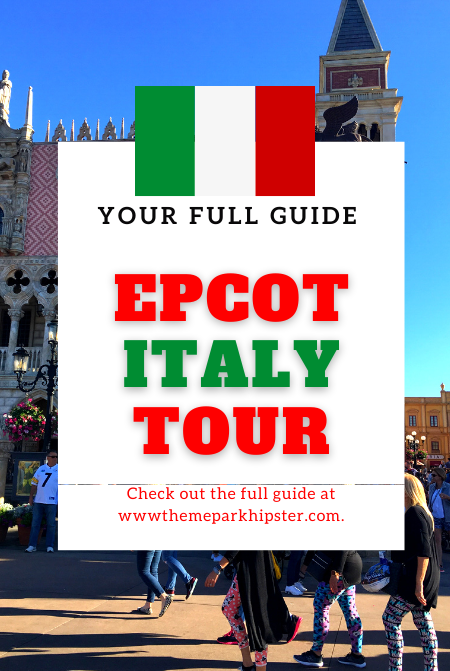 Italy Pavilion in Epcot Theme Park