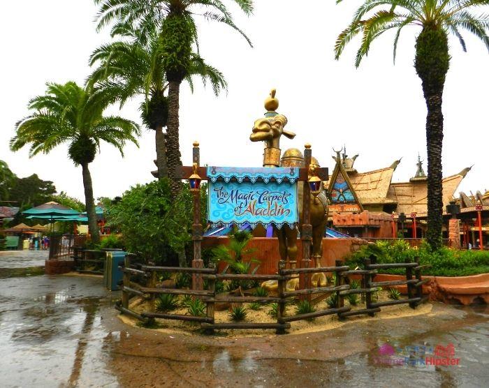 Magic Carpet Aladdin Ride at Magic Kingdom