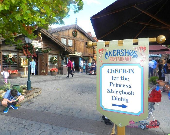 Norway Akershus Restaurant Princess Storybook Dining