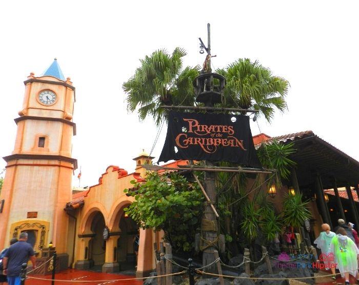 Pirates of Caribbean at Magic Kingdom Entrance