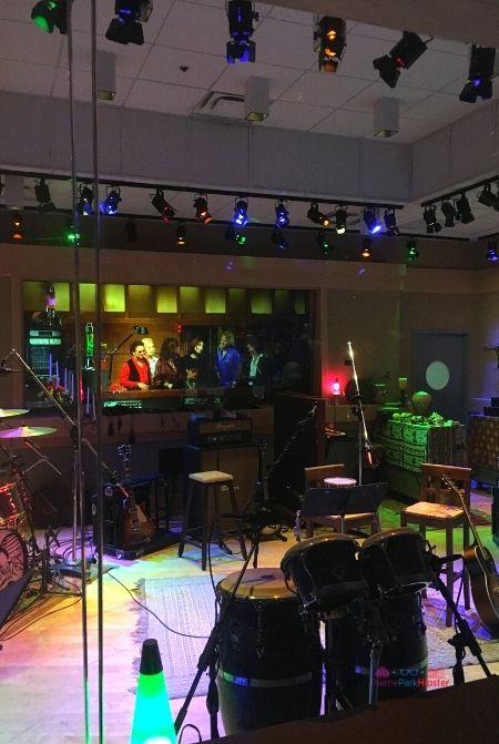Rockin Roller Coaster Preshow in the studio
