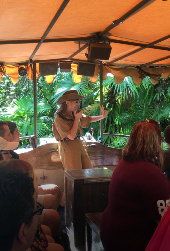 Skipper on the Jungle Cruise