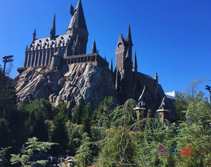 Hogwarts Castle in Florida Sun