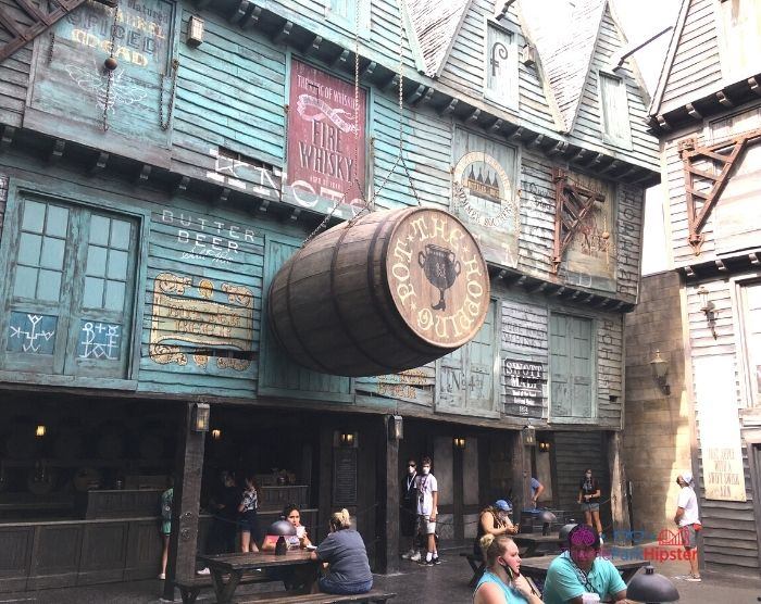 The Hopping Pot in Diagon Alley at Harry Potter World Universal