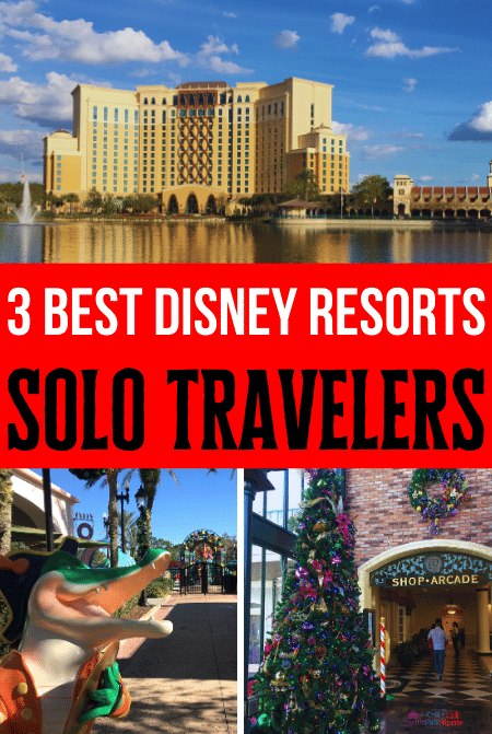 3 BEST Disney Moderate Resorts for Solo Travel