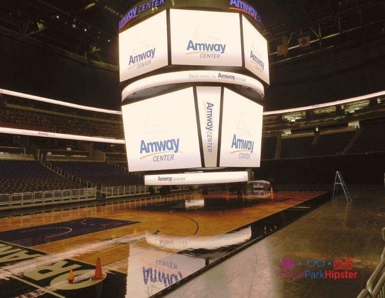Amway Arena where Orlando Magic Plays