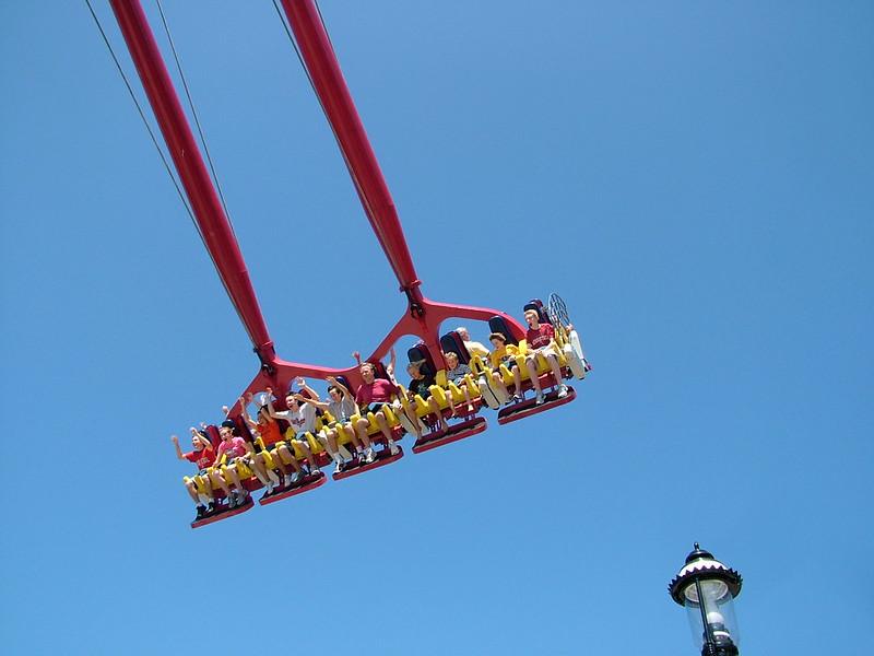 Cedar Point Skyhawk Ride in the Air