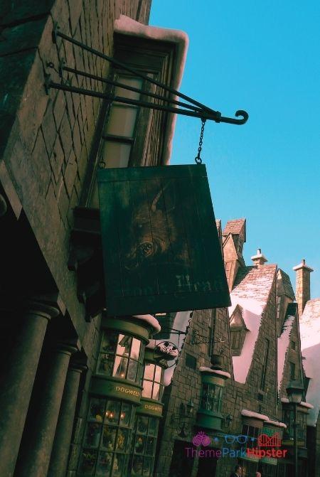 Hogs Head entrance in Harry Potter World