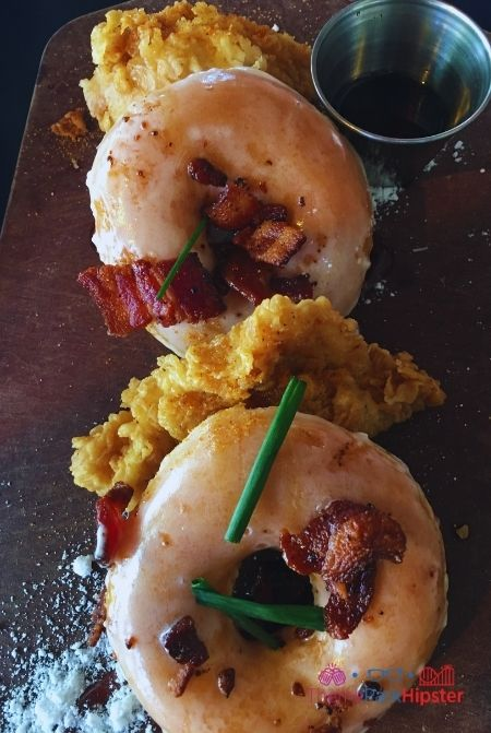 House of Blues Weekend Brunch Chicken and Donuts at Disney Springs