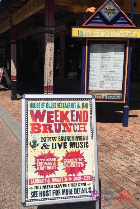 House of Blues Weekend Brunch at Disney Springs