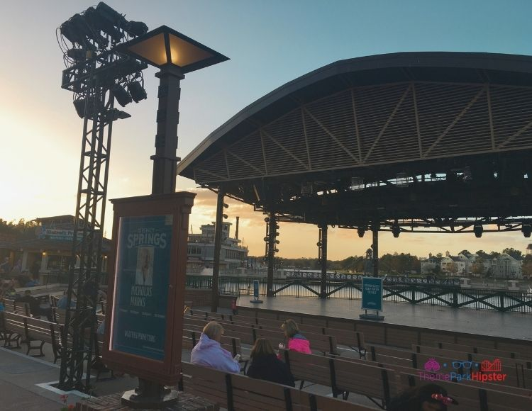 Live Entertainment Stage at Disney Springs