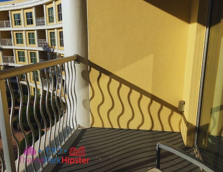 Melia Orlando Suite Balcony