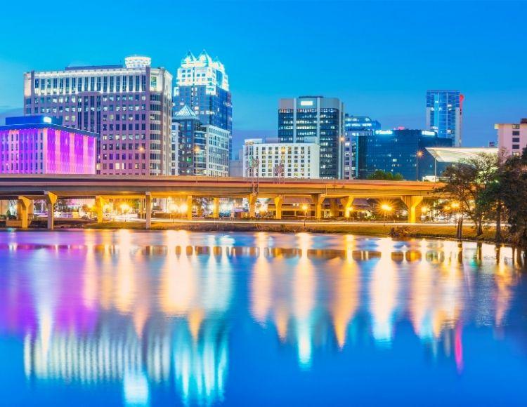 Orlando Downtown Skyline