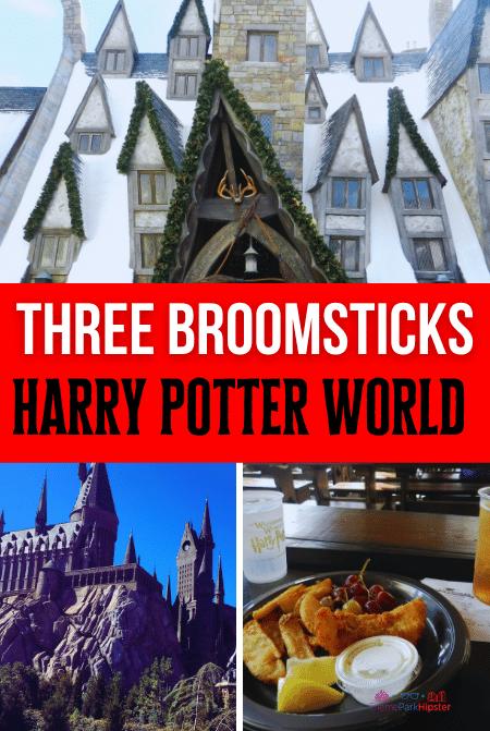 Three Broomsticks in Harry Potter World