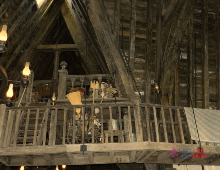 Three Broomsticks upstairs in Wizarding World of Harry Potter