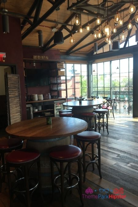 Wine Bar George Second Floor Dining Room at Disney Springs