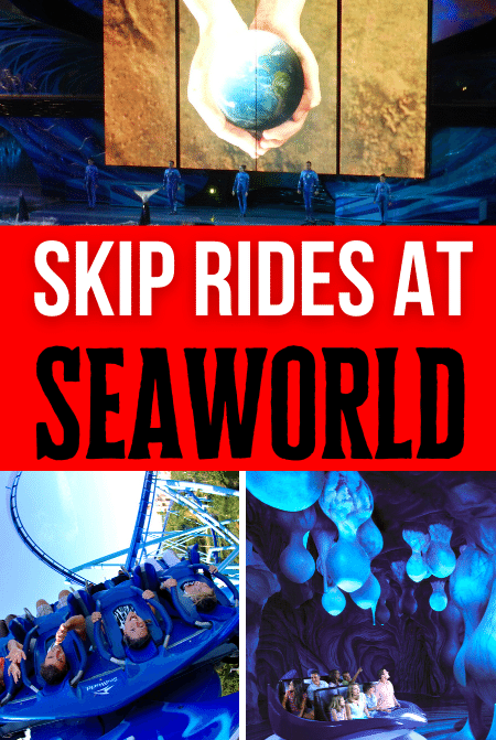 Avoid Seaworld Wait Times and Skip the Rides