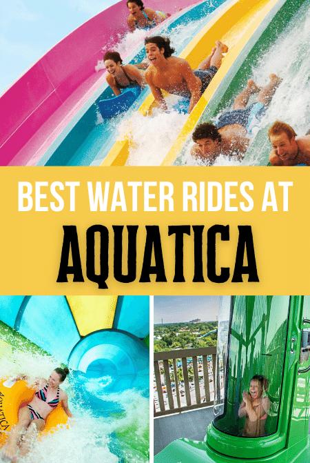 Best Water Rides at Aquatica Water Park Orlando