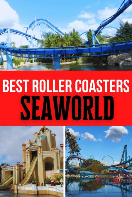 Best roller coasters at SeaWorld Orlando