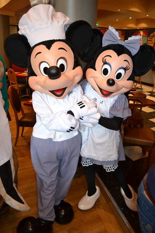 Chef Mickey and Cafe Minnie at Cafe Mickey