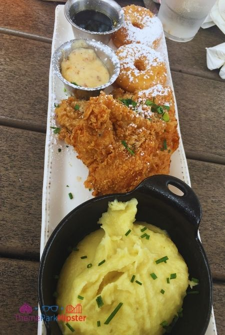Chicken and Donuts Homecomin Disney Springs