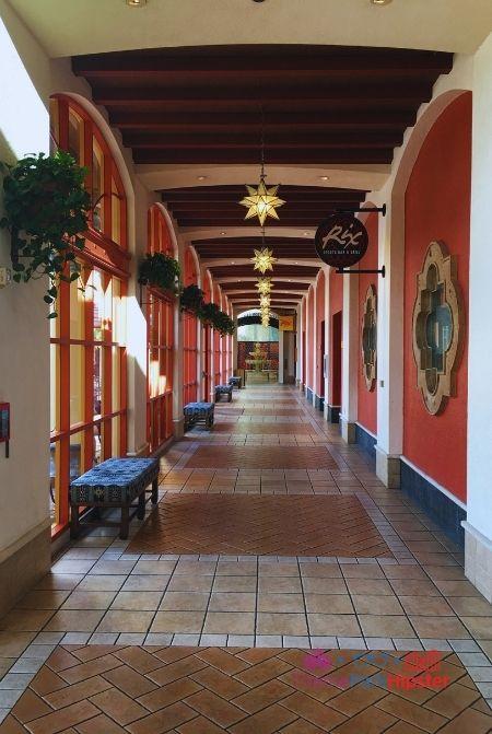 Disney Coronado Springs Food Court Hallway