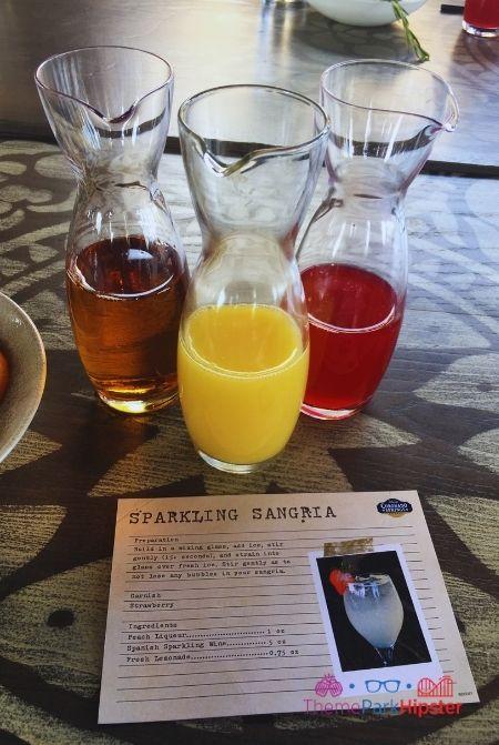 Disney Sangria University Apple Juice Orange Juice