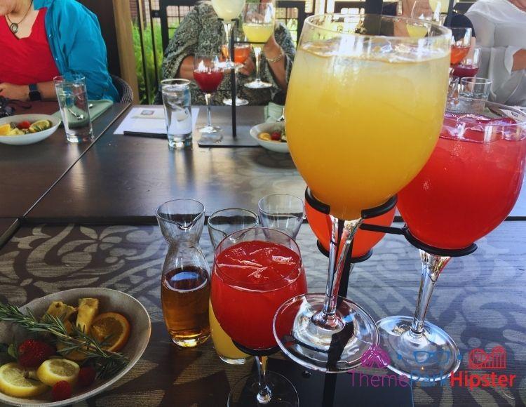Disney Sangria University Non Alcoholic Options