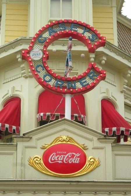 Disney World Casey Corner Hotdogs at Magic Kingdom