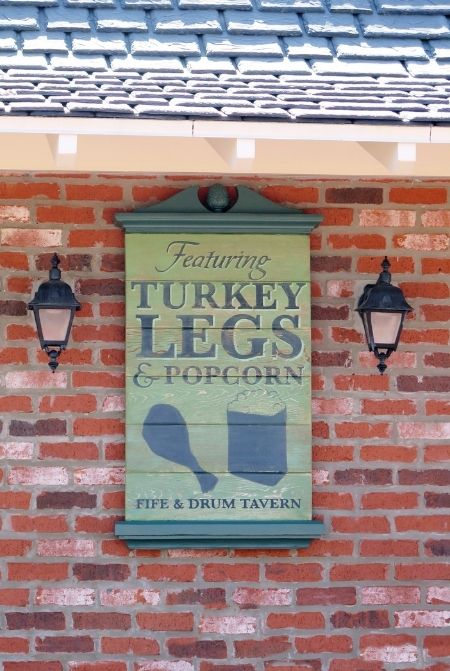 Disney World Turkey Legs