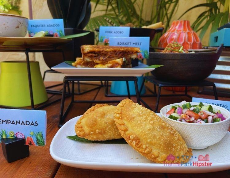 Empanada Brisket Melt Esquites Asados at Universal Studios