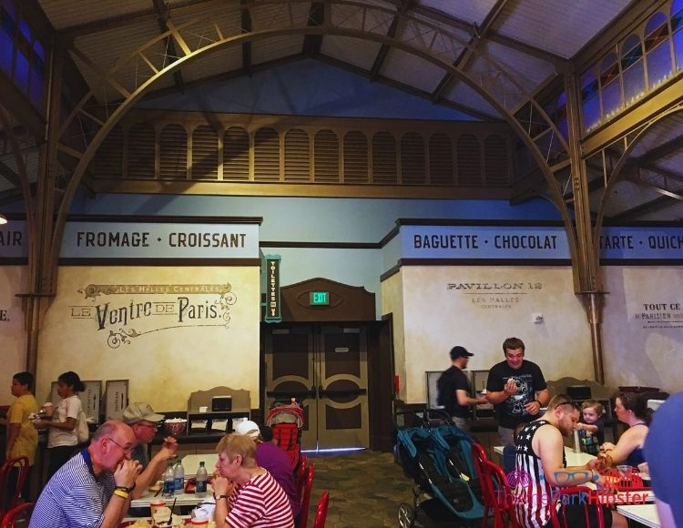 French Cafe in Epcot. Disney World Dining Quick Service.