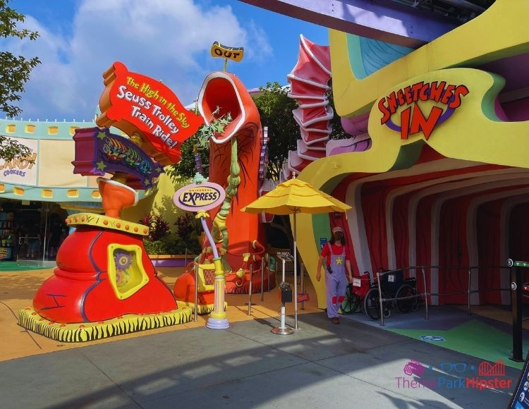 Cat in the Hat Ride at Islands of Adventure