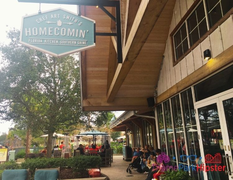 Homecomin Disney Springs Entrance