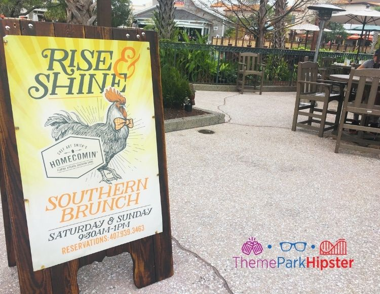 Homecomin Disney Springs Southern Brunch