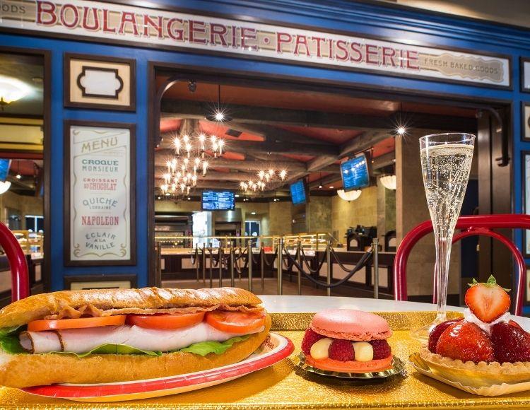 Les Halles Boulangerie & Patisserie Delights Epcot Guests. Best breakfast at Disney World.
