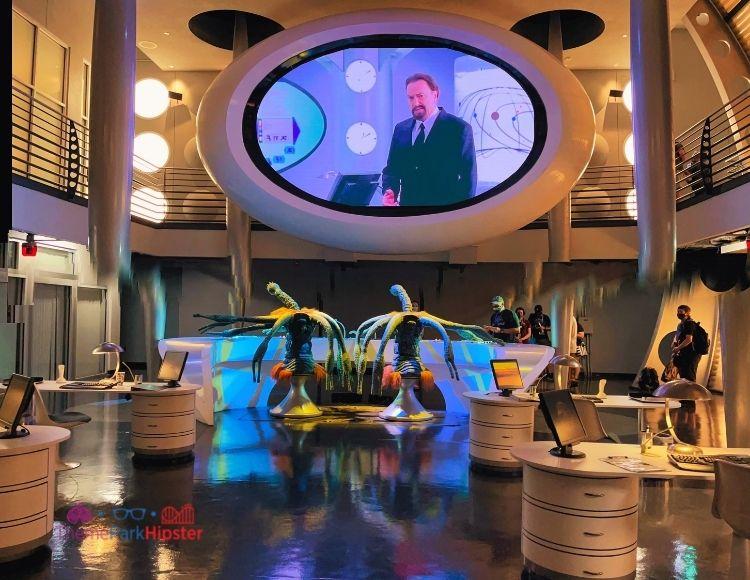 Men in Black Alien Attack Immigration Room Universal Studios