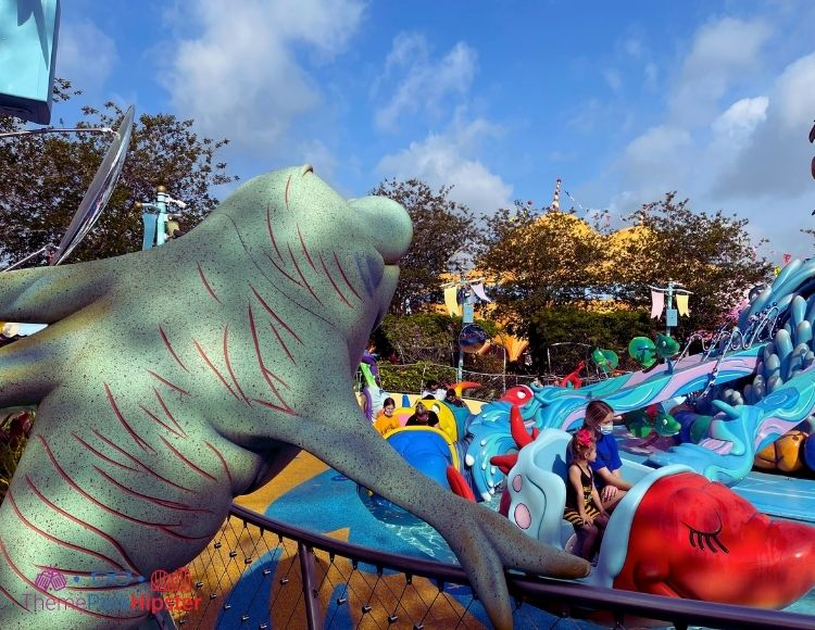One Fish Two Fish Red Fish Blue Fish Ride at Islands of Adventure