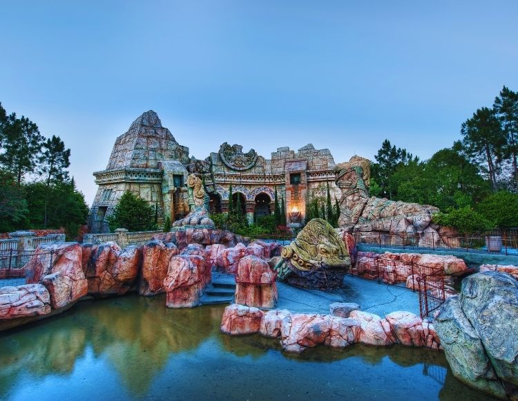 Poseidon's Fury at Universal Islands of Adventure Canva