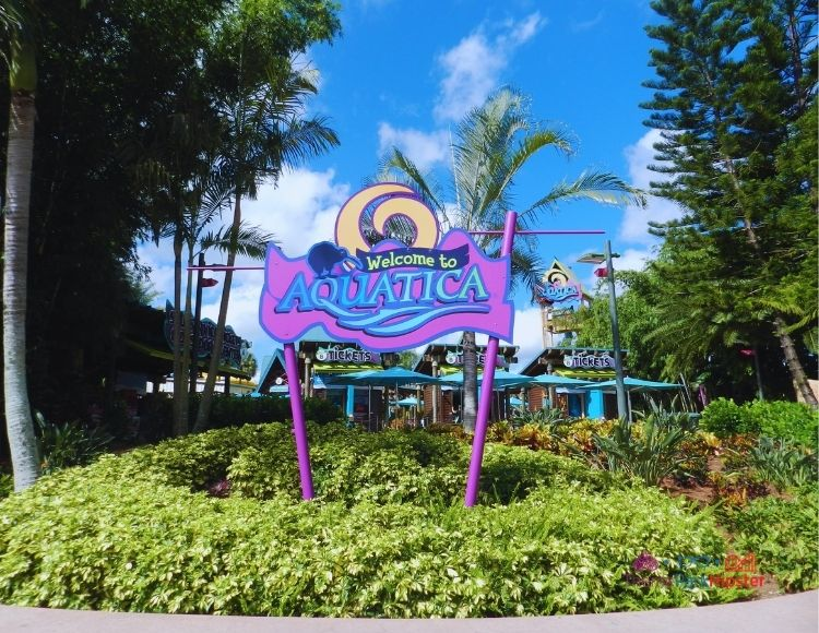 SeaWorld Aquatica Orlando Entrance