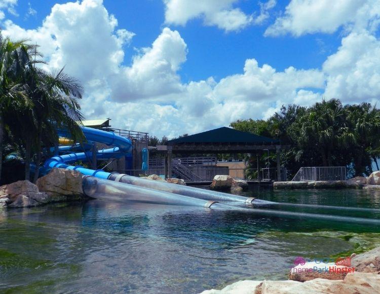 SeaWorld Aquatica Orlando Park Dolphin Plunge Lagoon Area
