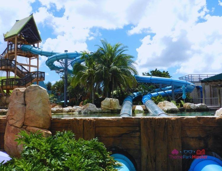 SeaWorld Aquatica Orlando Park Dolphin Plunge Water Ride