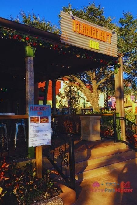 SeaWorld Orlando Flamecraft Bar Entrance