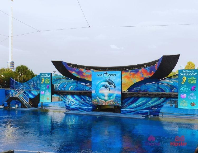 SeaWorld Orlando Shamu Stadium One Ocean Show