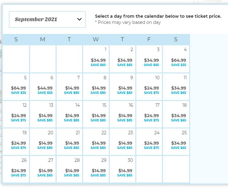 SeaWorld Quick Queue September Options helps avoid long SeaWorld wait times.