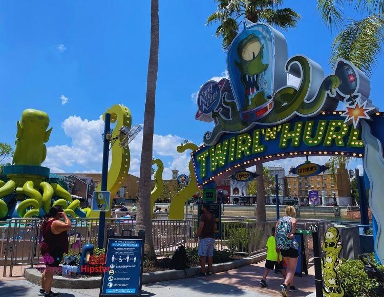 Twirl n Hurl Simpsons Ride at Universal Studios