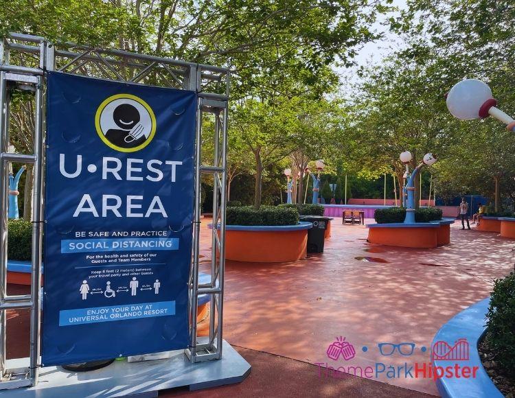 U Rest Area at Islands of Adventure Toon Lagoon Stage