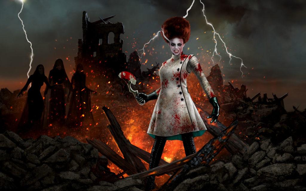 Universal Monsters House HHN Bride of Frankenstein 30 2021