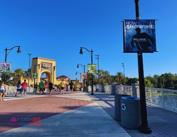 Universal Studios Arches View from CityWalk