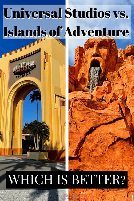 Universal Studios vs. Islands of Adventure